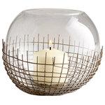 Cyan Design - Large Silk Candleholder - Large Silk Candleholder