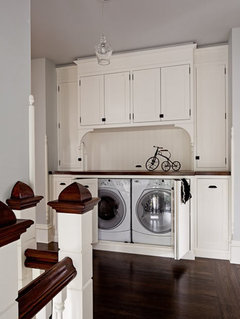 Cabinet Doors In Front Of Washer, Cabinets To Cover Washer And Dryer