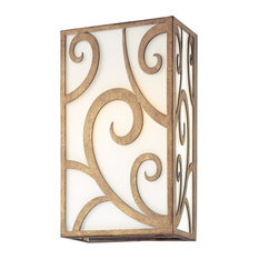 Troy Lighting - Troy Wall Sconce Revolution Bronze Hand-Forged Iron 120 W 2-Light 11 quot; - Wall Sc