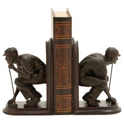 Modern Bookends by Brimfield & May