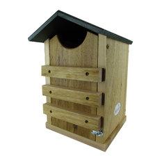 Screech Owl or Saw-Whet Owl House Cedar Nesting Box, JCs Wildlife