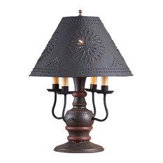 Cedar Creek Lamp, Expresso With Shade