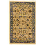 """Unique Loom - Unique Loom Edinburgh Hyacinth Area Rug, Tan, 3'3""""x5'3"""" - The classic look of the Edinburgh Collection is sure to lend a dignified atmosphere to your home. With an array of colors and patterns to choose from, there�s a rug to suit almost any taste in this collection. This Edinburgh rug will tie your home�s decor together with class and amazing style."""