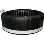"MSPA-USA LLC - ""Camaro"" Bubble Spa - The Mspa Camaro Series has a round shape, with built in control system, whisper quiet - seats 4"