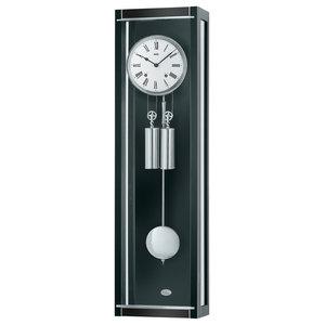 Rhea Regulator Wall Clock, Black
