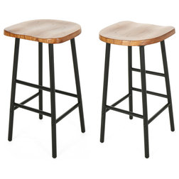 Rustic Bar Stools And Counter Stools by GDFStudio