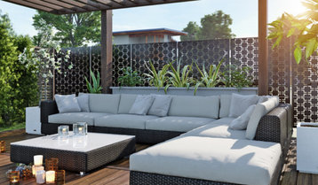 Contemporary Outdoor Furnishings