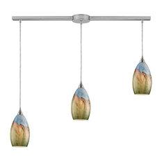multi pendant lighting. elk group international elk lighting 100773l geologic transitional multi light mini pendant