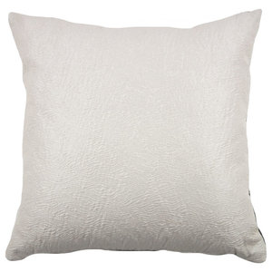 Semplice Cushion, Cream and Olive Green