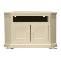 Eagle Furniture 42-inch Coastal Corner Entertainment Console Bright White
