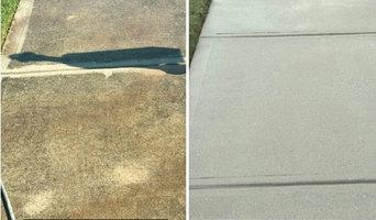 Concrete cleaning, concrete decorative sealing and deck restoration