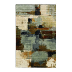 Mohawk Home   Cool Abstraction Multi Rug, 8u0027x10u0027   Area Rugs