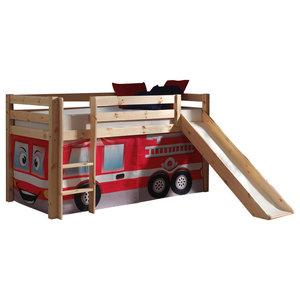 Pino Kids Room Set, Fire Rescue, Slide