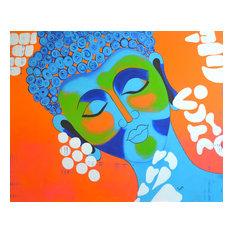 Buddha Painting, Original Asian Art