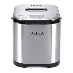2LB Automatic Bread Maker, Stainless Steel