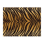 Bengal Tiger Faux Fur Upholstery Fabric