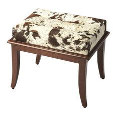 Vanity Stool Leopard Wood Stain by EuroLuxHome  232 · Butler Cosmopolitan  Stool 6145350 41ed1c7ac