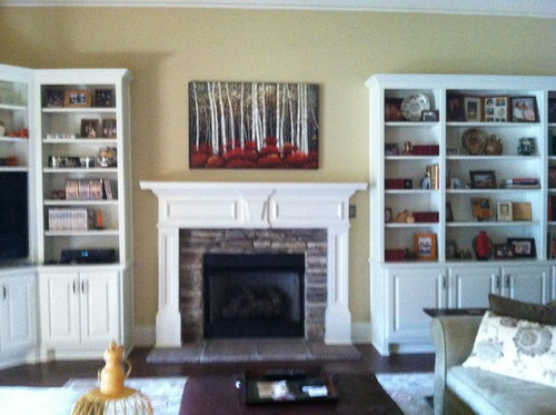 Decorating Fireplace Mantel