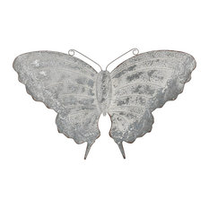 Elk Coventry Butterfly Garden Decor 563119, Antique Galvanized