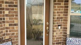 Decorative Door Glass - Waterside