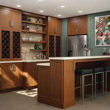 Wood Grain Kitchens By Cabinets Direct USA