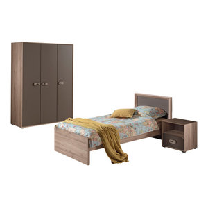 Emma Room Set With Large Wardrobe, Set of 3