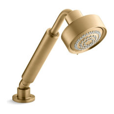 Kohler - Kohler Purist 1.75 GPM 3-Way Handshower, Vibrant Moderne Brushed Gold - Showerheads and Body Sprays