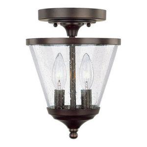 Capital Lighting Stanton 2-LT Foyer Light 4032BB-236 - Burnished Bronze