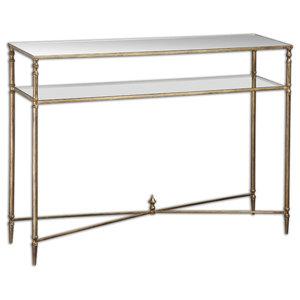 Safavieh Baumgarten Console Table, Gold - Contemporary