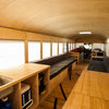 Buckle Up for a Modern Mobile Cabin in a Bus