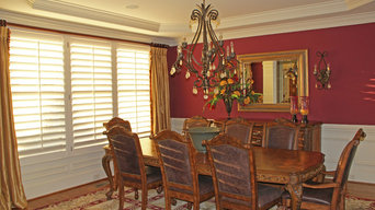 Dining Room Plantation Shutters