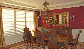Dining Room Plantation Shutters