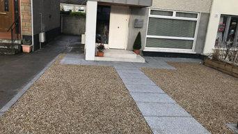 New gravel & granite driveway in Dundrum, Co.Dublin