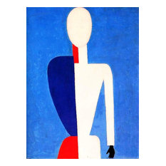 """Kazimir Malevich Prototype of a New Image, 21""""x28"""" Wall Decal"""