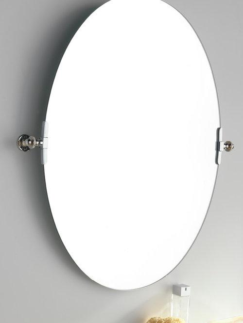 Bathroom Mirrors Oval Tilt Mirror sterlingham bathroom accessories