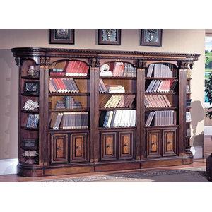5 Pc Open Top Bookcase w Outside Corner - Huntington