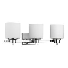 chloelighting solbi 3 light vanity fixture with alabaster glass chrome bathroom vanity