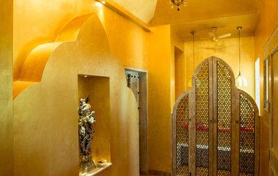 8 Divine Puja Room Colours & Combinations