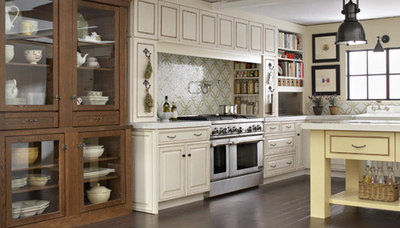 Ideas for L-Shaped Kitchens