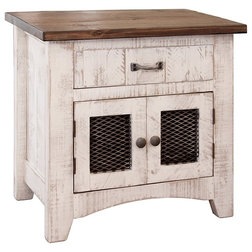 Farmhouse Nightstands And Bedside Tables by Burleson Home Furnishings