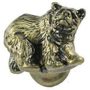 Grizzly Knob - Antique Brass, SIE-681294