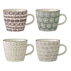 Bloomingville - Bloomingville Karine Mugs, Set of 4 - Mugs