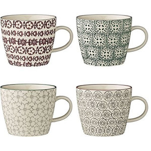 Bloomingville Karine Mugs, Set of 4