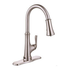 Premier   Premier Creswell Touchless Sensor Pull Down Kitchen Faucet With  LED   Kitchen Faucets
