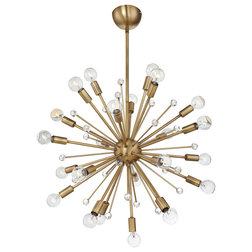 Luxury Midcentury Chandeliers by Lighting New York