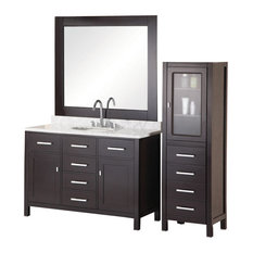 "48"" Modern Single Sink Bathroom Vanity"