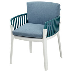 Contemporary Outdoor Dining Chairs by Gold Sparrow