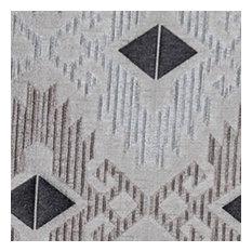 """Zuni Charcoal Fabric, 56""""x36"""""""