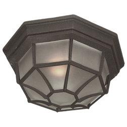 Transitional Outdoor Flush-mount Ceiling Lighting by Woodbridge Lighting Inc.