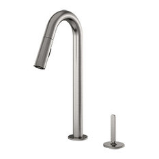 Apex Pulldown Faucet With Dual Spray & Single Lever, Brushed Nickel